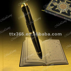 Hot!!! New 24K gold-plating 8GB holy quran pen reader
