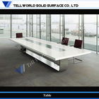 2013 TW high quality solid surface long size office conference table