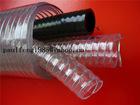 BLACK pvc steel wire soft hose 2''