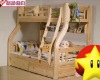 home furniture solid wooden bunk bed