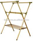 lightweight aluminum garment rack/clothes drying rack stand