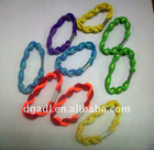 colorful twist band for hair