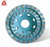 Turbo Type Double Row Diamond Cup Wheel For Grinding