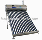 Compact non pressure system solar energy water heater