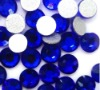 Loose crystal flatback rhinestones SS20 for DIY jewelry!!Sapphire color crystal stones!!