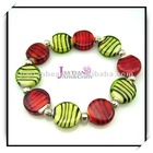 Fashion promotion gift glass bead bracelet