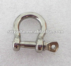 stianless steel bow shackle