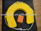 Yellow EVA horse shoe life buoy