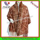 Fashion rabbit fur shawl