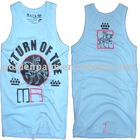 100% cotton round neck sleeveless men's tank tops