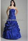 New Arrival Royal Blue Bead Prom Dresses 20123 New Fashion Quinceanera Dress 2012