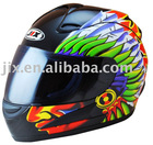 2012 DOT/ECE new motorcycle full face Helmets JX-A110