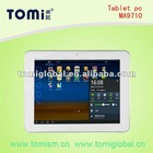 Android 4.0 dual camera tablet pc with 1g ram /16gb M9701