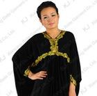 (KJ-WAB6007)Hight qulity Abaya muslim women islastic silk ice modest high quality fashion arabic long dress
