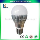 5/6/7w 240v,5pcs smd,420lm high power led bulbs