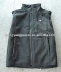 Polar fleece battery heating vest