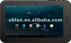 "7"" Capacitive 5 Point Touch Android 2.3 OS Tablet PC With HDMI"