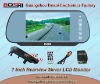 7 inch rearview mirror with USB, SD