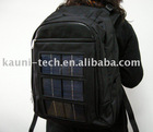 High Quality laptop solar backpack in 1680D