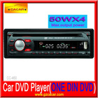 Car audio player for one din with MP3/MP4/USB/SD/FM