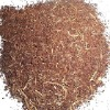 Tea seed powder with straw