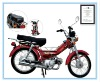 35cc/50CC/100cc/110cc Single-cylinder, air-cooled, 4-stroke Motorcycle