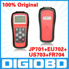 100% Original Autel MD801 SCANNER MaxiDiag PRO MD 801 AUTO CODE READER(JP701+EU702+US703+FR704) 4 in 1