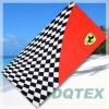 Checked Flag cotton Beach Towel