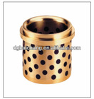 Solid Bronze Bush with Solid Lubricant