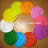 hot sale FDA silicone coffee cup lid