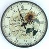 Promotional Plastic wall clock,12 inch quartz wall clock