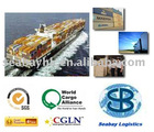 Ocean freight from Shenzhen,Ningbo,Xiamen,HK...to worldwide