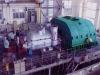Straight air condensing steam turbine