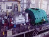 Straight air condensing steam turbine