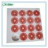 Round-shaped Aluminum Foil Label