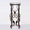 metal flower rack