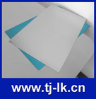 Gloss glazing plate