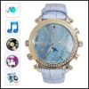 Fashion Design Watch Digital Video Recorder with MP3 Player, 4G Memory Included