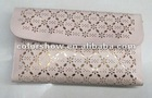 Pink hollowing clutch bag JY2624