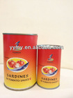high quality canned sardines HACCP CERT