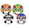 Peking Opera Laughing Faces Mask Bottle Opener