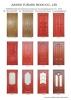 Wooden Door (YX##) doors for project, doors, interior doors