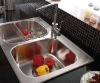 single handle kitchen tap