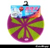 PVC anti-slip round shower mat