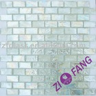 "12"" Iridescent Clear Glass Mosaic (ZM013)"