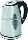 T-903 .360 degree rotation stainless steel double light cordless jug-kettle for family use