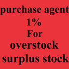 overstock purchasing agent service