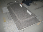 Granite G664 headstone