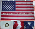 2x3ft Nylon Embroidery USA flag