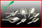 Stainless steel ice scoop